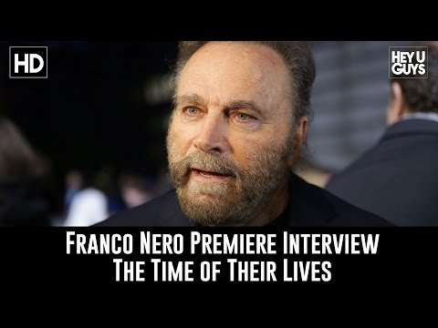 Franco Nero Premiere Interview - The Time of their Lives