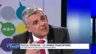 """Pascal Terrasse : """"il faut réformer la francophonie"""""""