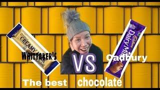 Whittaker's vs. Cadbury what's the best chocolates