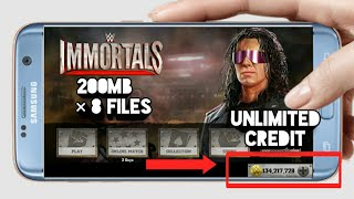 (200mb)how to download wwe immortals mod apk highly compressed