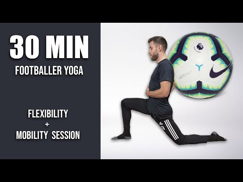 Pro Footballer's Full Deep Stretch and Yoga Routine | 30 Minute Yoga for Soccer Players