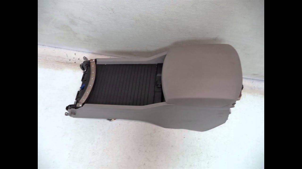 2009 Honda PILOT CENTER CONSOLE WITH ARM REST GRAY ...