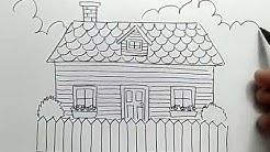 Cara Menggambar Dan Mewarnai Istana Dongeng Dengan Mudah Menggunakan