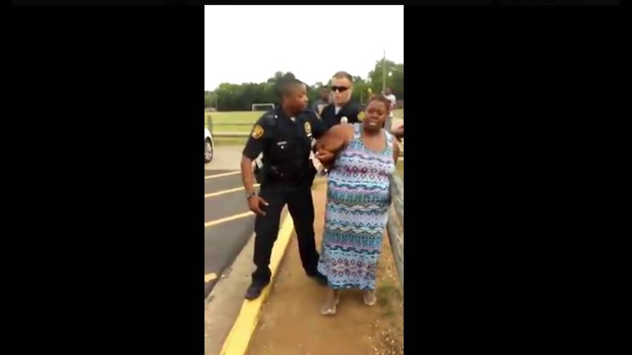 Video shows Montgomery arrest that sparks social media outrage