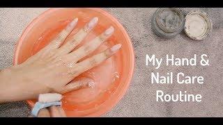 My Hand and Nail Care weekly Routine | Aliza Naqvi