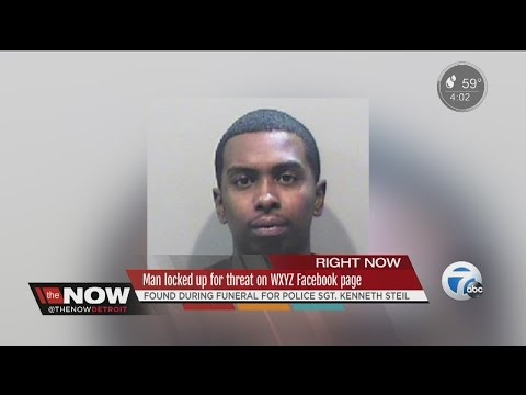 Man locked up for threat on WXYZ Facebook page