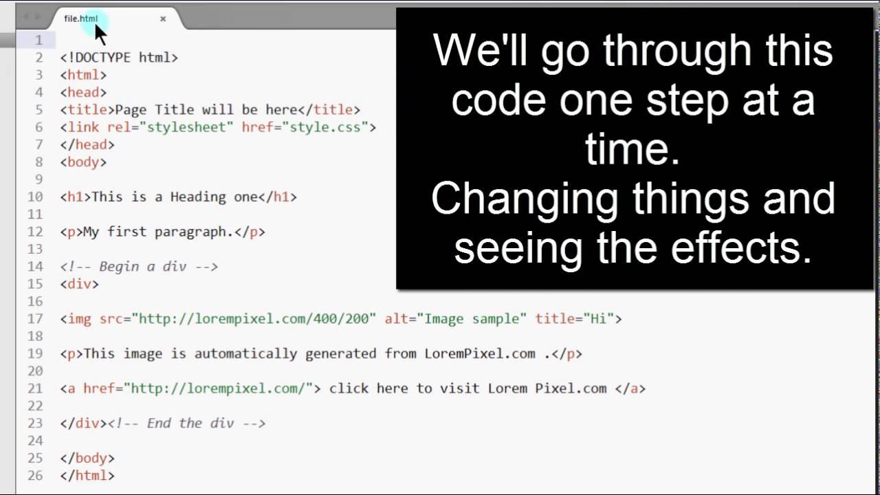 3 HTML code - coding practice - YouTube