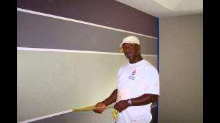 Integrity Painting HMS, LLC Striped Wall Painting...