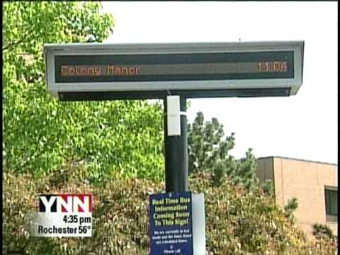 RIT on TV News: Bus Stop Technology