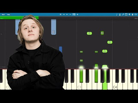Lewis Capaldi - One - Piano Tutorial