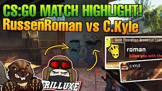 CS:GO Russen Roman vs C. Kyle am fetten Schwengel links!