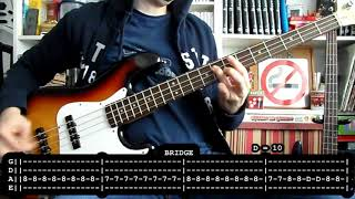 BAD RELIGION - You (bass cover w/ Tabs)