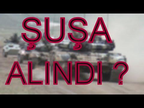 Azerbaycan Ordusu Şuşa-ya