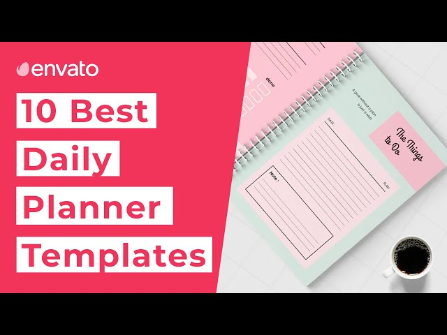 10 Best Daily Planner Templates [2020]