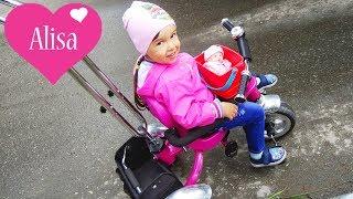 Алиса гуляет на детской площадке ПУПСИК Детский канал Little baby Алиса