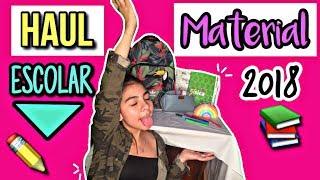 HAUL MATERIAL ESCOLAR 2018 // SoFi TiRaDo