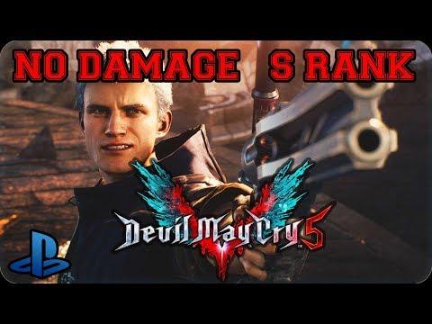 Devil May Cry 5  | Demo PlayStation 4 | No Damage Gameplay (Sin Daños) thumbnail