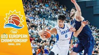 France v Israel - Full Game - FIBA U20 European Championship 2019