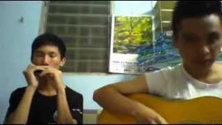 Khi em thấy cô đơn lòng em nhớ ai (Guitar + Harmonyca)