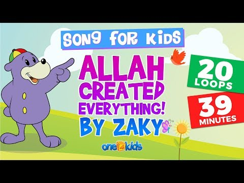 ALLAH Created Everything - Zaky 39-MINUTE SONG LOOP!