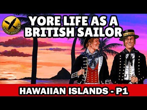 Yore Life as a British Navy Sailor during Napoleonic Wars - Merchant ship to Hawaii - P1