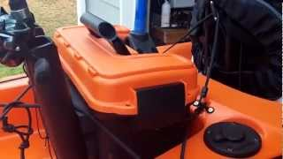 Kayak Fishing Milk Crate (Part 1)