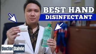 The BEST Hand Disinfectant for COVID 19