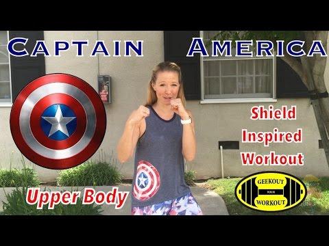 Captain America Civil War: Upper Body Shield Workout
