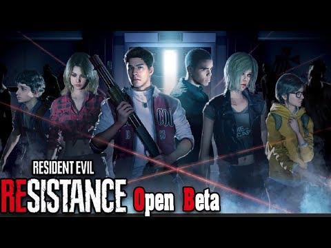 Все выжившие в игре Resident Evil Resistance Open Beta! в жанре Дед бай дейлайт