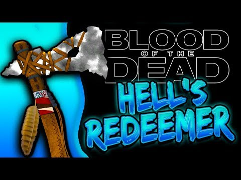 How To Get HELLS REDEEMER UPGRADED TOMAHAWK Blood of The Dead BO4 Zombies
