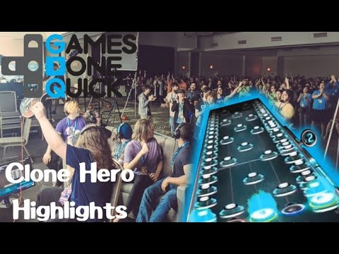 Clone Hero Showcase Highlights  Awesome Games Done Quick 2020