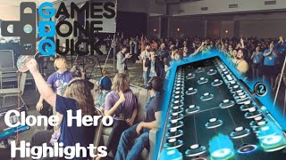 Clone Hero Showcase Highlights - Awesome Games Done Quick 2020