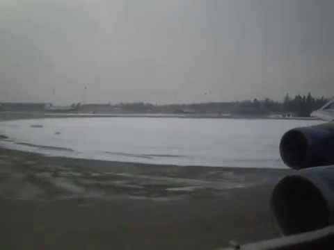 Boeing 747 - 400 Take-off Moscow UUEE
