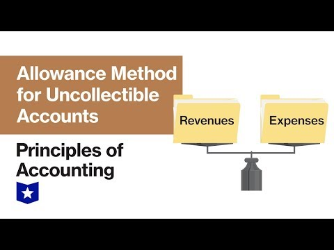 Allowance Method For Uncollectible Accounts | Principles Of Accounting