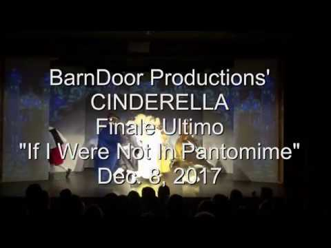 If I Were Not In Pantomime December 8 2017 Youtube