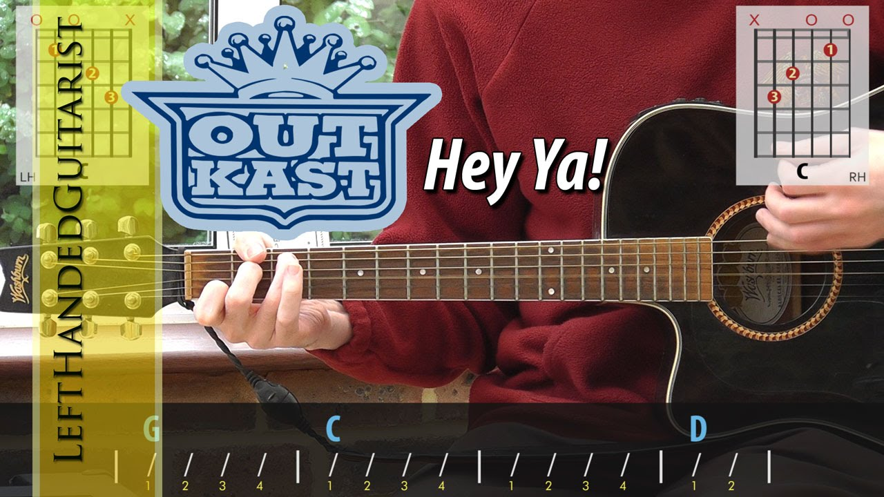 Outkast Hey Ya Guitar Lesson Youtube