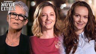 HALLOWEEN | On-set visit with Jamie Lee Curtis, Judy Greer & Andi Matichak