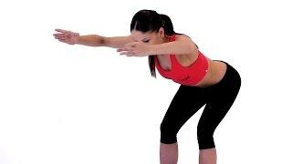 Фитнес.  Упражнения стоя