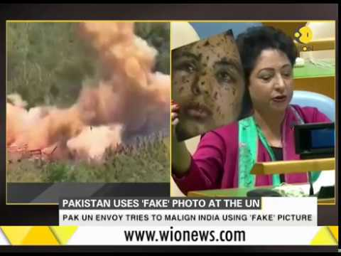 Pakistan embarrasses itself on world stage,  tries to malign India with 'fake' picture