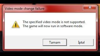 Counter Strike 1.6 Opengl hatasının çözümü !