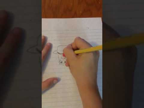 How to draw a Chicago Bulls symbol