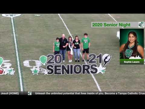 2020/2021 Senior Night Ceremony - Tampa Catholic High School