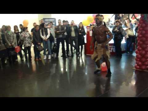 Афро шоу в Торговом Комплексе КОНТИНЕНТ- DIPLOMAT