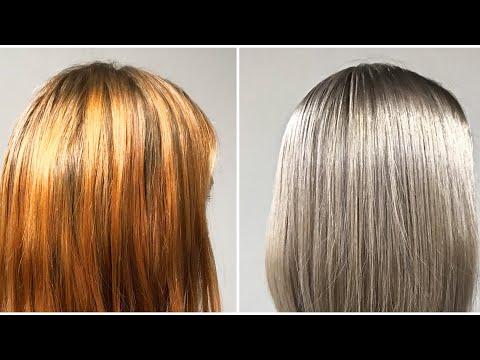 Как перекрасить волосы из рыжего в русый в домашних условиях