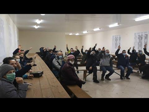 Mieszkańcy protestują przeciwko budowie chlewni