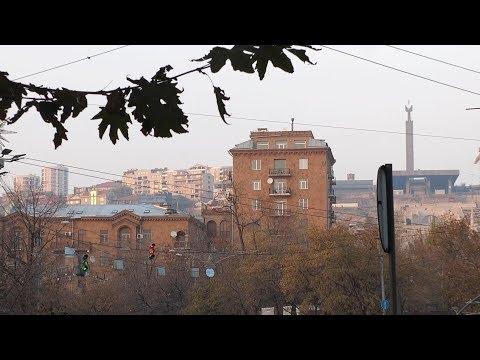Yerevan, 03.12.17, Su, Video-2, (на рус.), просп. Маштоца, (ч.4).