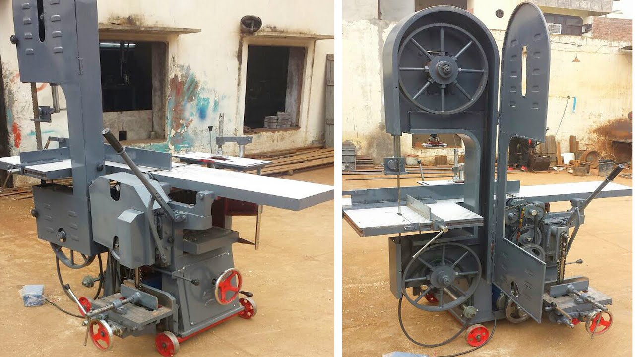 Heavy Duty- Multi Purpose Wood working Machine With Bandsaw 2021 Punjab (Sirhind)- +919988947686