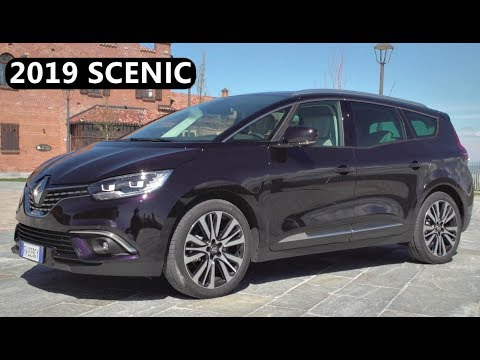 2019 Renault Scenic Blue Dci Exterior Interior Drive