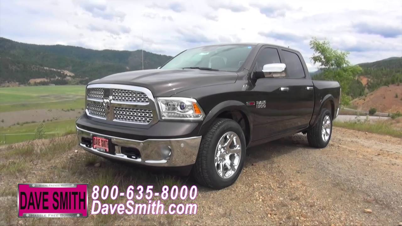 Quick review 2016 ram 1500 laramie crew cab 4x4 at dave for Dave smith motors reviews