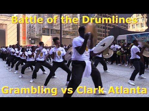Drumline Battle - Grambling vs Clark Atlanta 2017 Chicago Football Classic